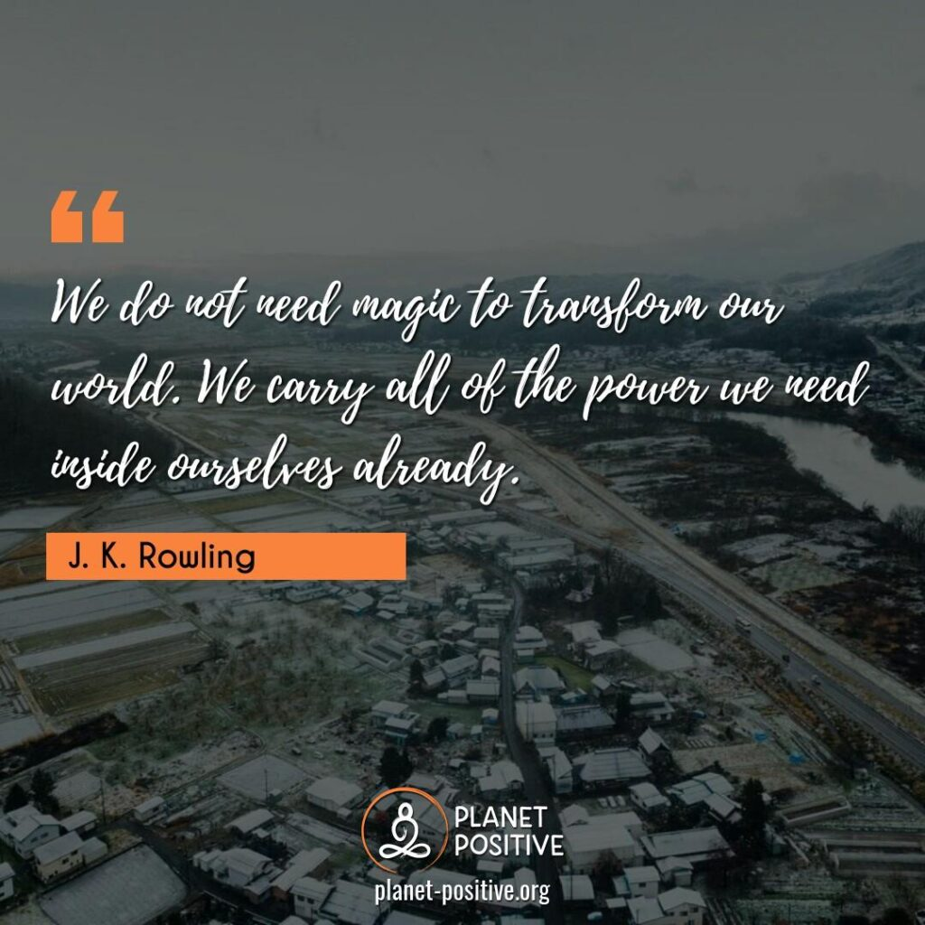 Law Of Attraction Quote by J. K. Rowling
