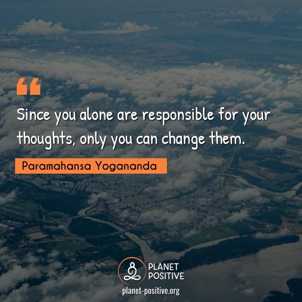 Law Of Attraction Quote by Paramahansa Yogananda