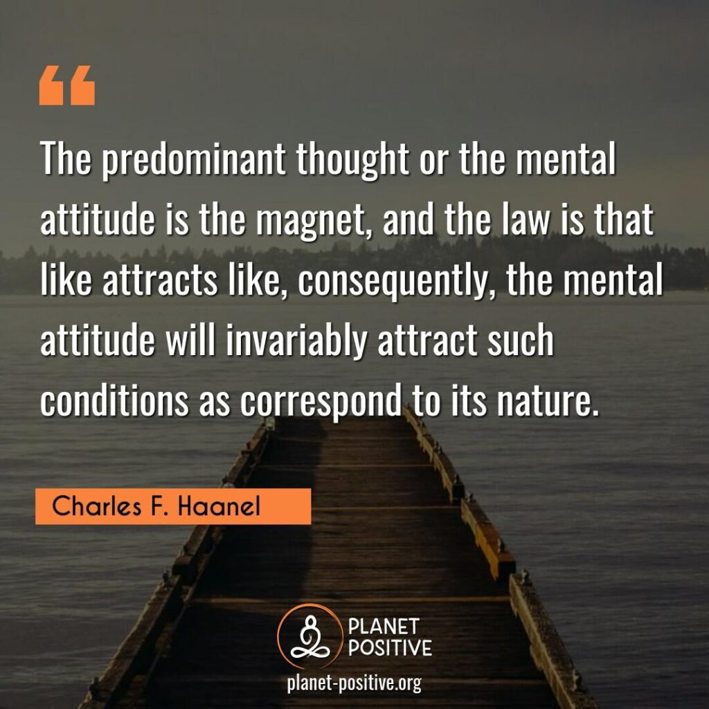 Law Of Attraction Quote By Charles F. Haanel